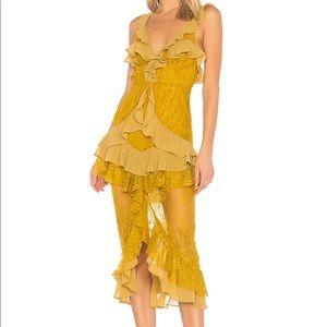 Gorgeous For Love and Lemons Silk Dress